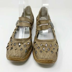 Rieker Antistress Mary Jane Casual Walking Flats